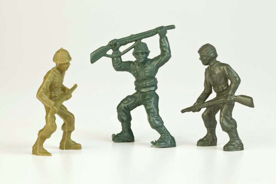 FINALIST: Little Green Army Men.