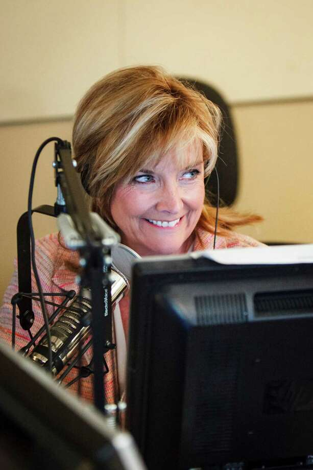 Shara Fryer works as a morning radio news anchor for KTRH 740-AM, at the radio studio.  Previously, she was a reporter, then anchor at ABC 13 KTRK from 1980 to 2006.    Photo: Michael Paulsen / © 2012 Houston Chronicle