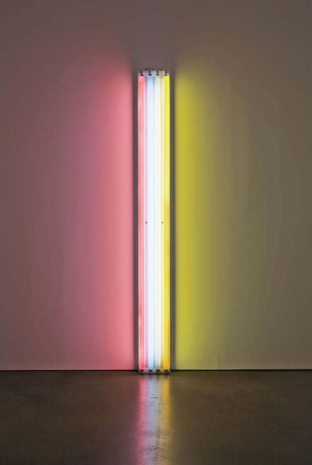 """Untitled (to Mr. and Mrs. Thomas Inch),"" by Dan Flavin Photo: -"
