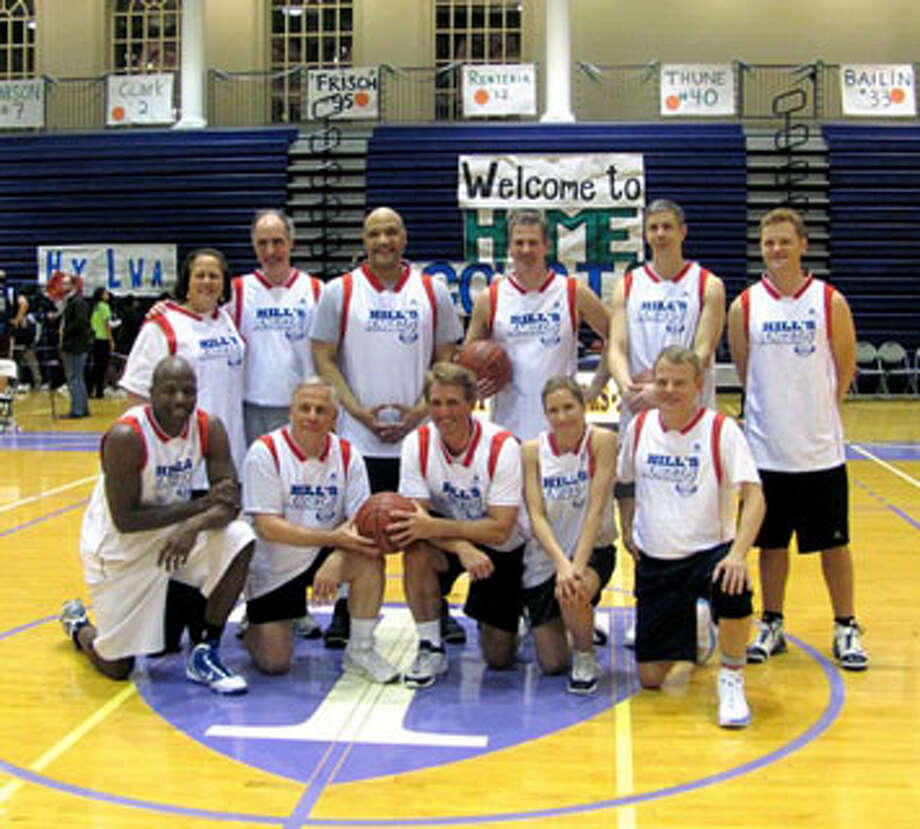 """""""The Angels"""" are the official basketball team of DC lawmakers. (Congressional photo)"""