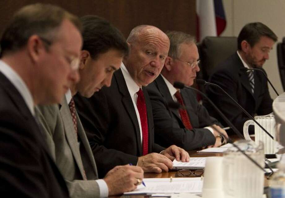 U.S Congressman Kevin Brady, R-Texas, speaks during an Energy and the Economy Forum at the South Texas College of Law Monday, Oct. 18, 2010, in Houston. (James Nielsen / Houston Chronicle)