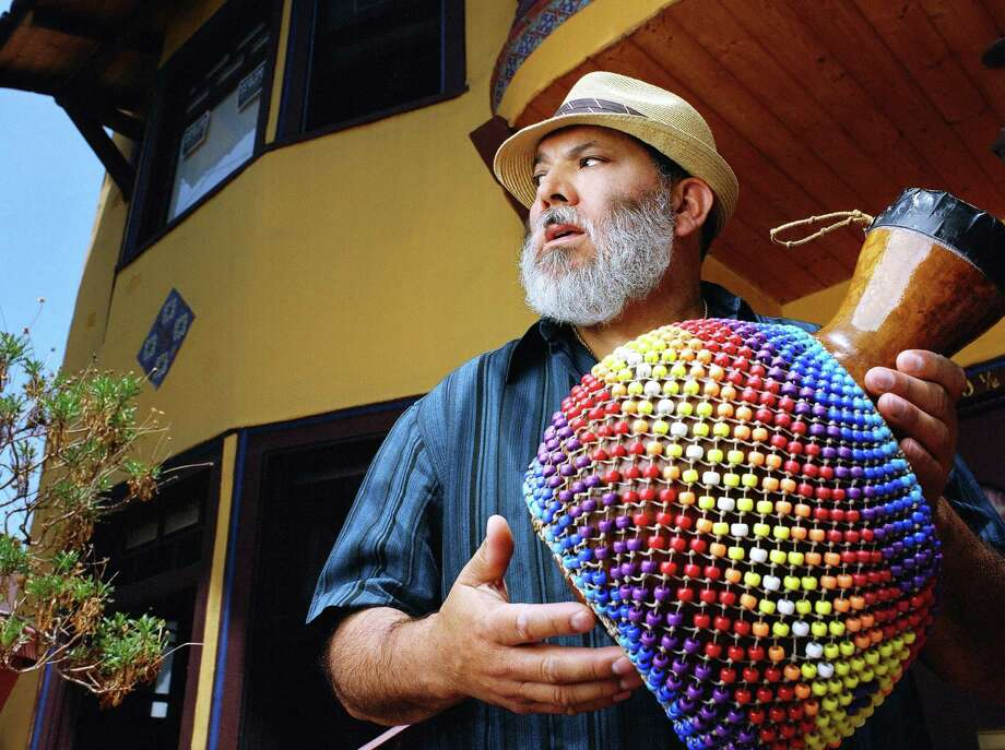 Grammy-winning artist Poncho Sanchez and his Latin Jazz Band will perform at the Jo Long Theatre, Carver Community Cultural Center. Courtesy photo Photo: Mysa