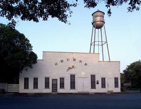 "Gruene Hall, built in 1878, isn't air-conditioned, ""but it's got good karma and we take good care of you,"" said owner Pat Molak. Photo: Mysa"