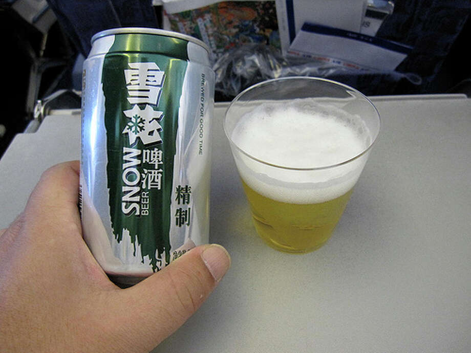 1. Ever heard of this beer? Probably not, but it's the best selling beer worldwide by volume. Sales hit 50.8 million barrels in 2011, making it the most popular beer worldwide. If only you could find it in the U.S. (Photo: Toyohara, Flickr)