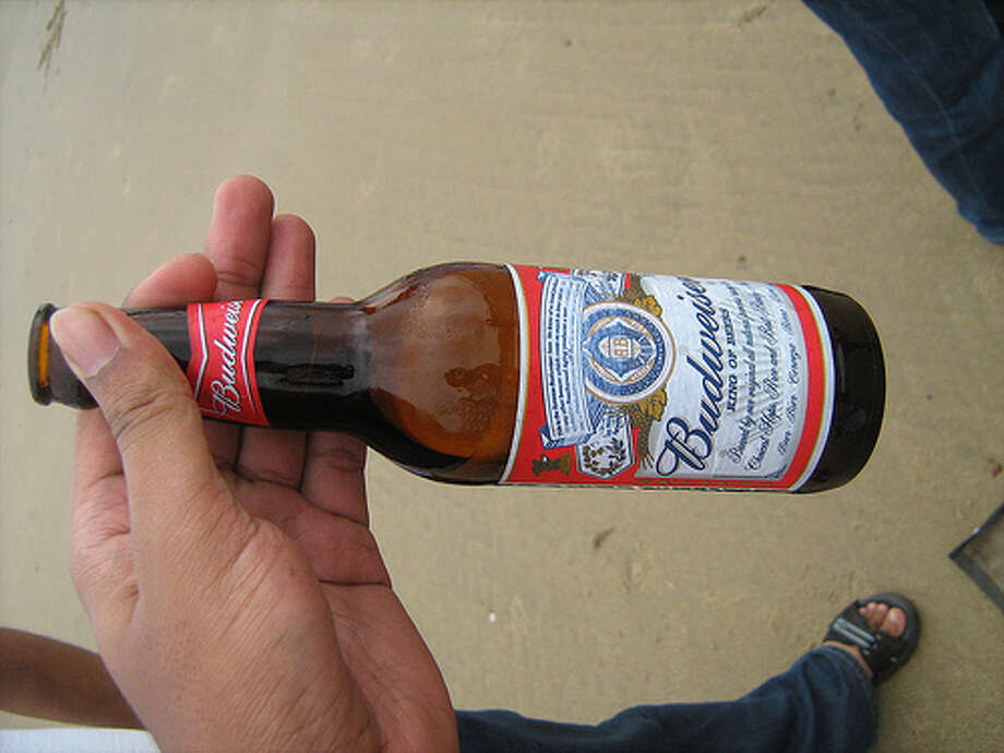 3. Budweiser – Budweiser is another popular beer in the states that's also making it on the national stage. Budweiser sold 38.7 million barrels in 2011. (Photo: VegDevil, Flickr) Photo: DM