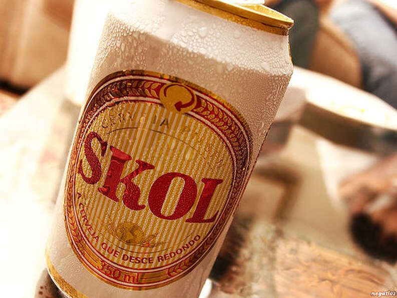 5. Skol – The Denmark-based brewer sold 29.5 million barrels of beer in 2011. The company – l