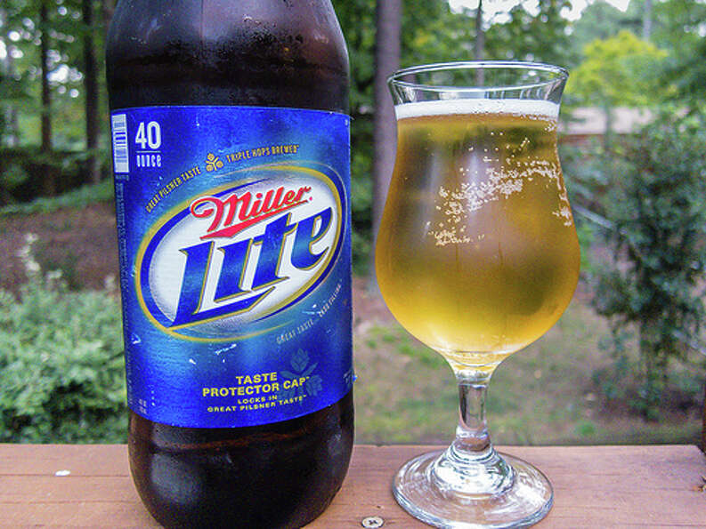 8. Miller Lite – It might be among the most popular in the U.S., but it doesn't crack the top