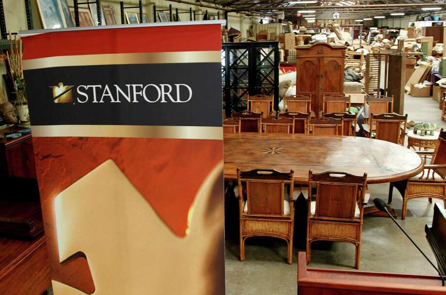 Stanford Financial Group's assets will be auctioned in attempts to fundraise money to repay victims of imprisoned R. Allen's Stanford on Thursday, Sept. 27, 2012, in Houston. Photo: Mayra Beltran, Houston Chronicle / © 2012 Houston Chronicle