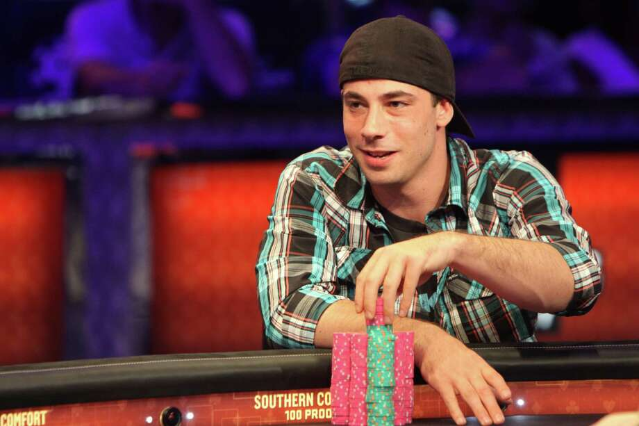 Ryan Eriquezzo is shown here with the hand he held just before winning the World Series of Poker National Championship. He won a World Series of Poker gold bracelet and the first-place prize of $416,051. The competition was at the Rio Suite Hotel & Casino  in Las Vegas, Nev. Photo: Contributed Photo