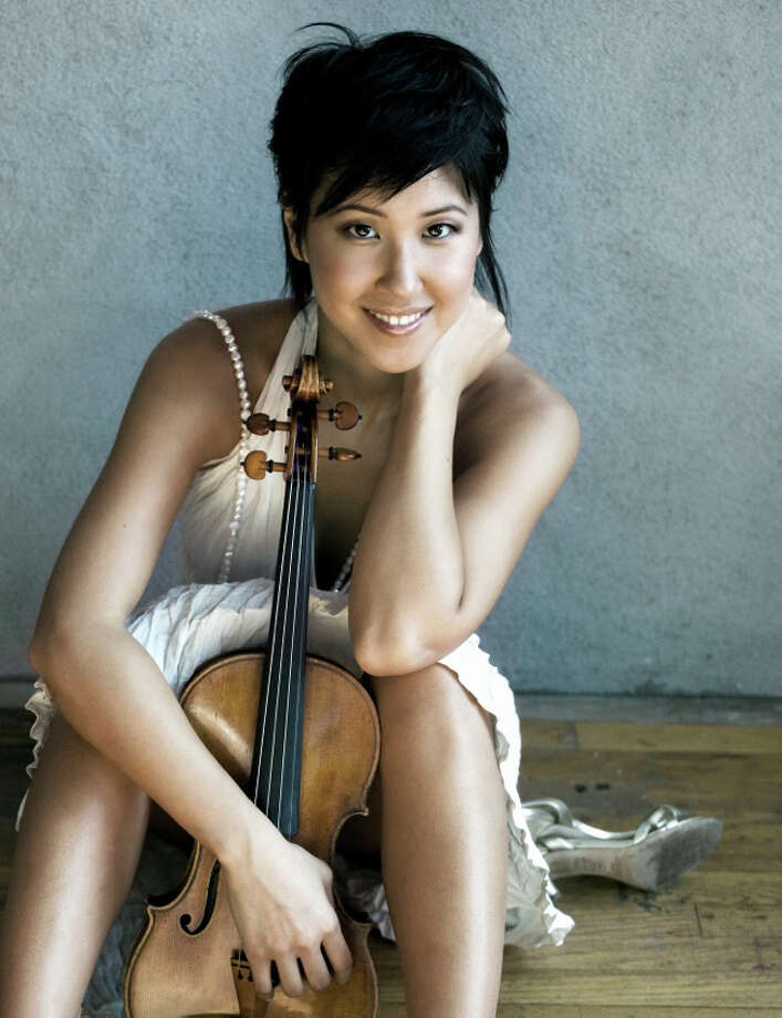 Yoon Kwon, the youngest first violinist of the Metropolitan Opera Orchestra, will be joining two of her colleagues for a performance at Stamford's Treetops Chamber Music Society, Sunday, Sept. 30, 2012, at 4 p.m. The performance will take place at 359 Merriebrook Lane, Stamford, Conn. Tickets: $40, $27.50 (subscribers). For more information, call 203-979-6052, or visit www.treetopscms.org. Photo: Contributed Photo