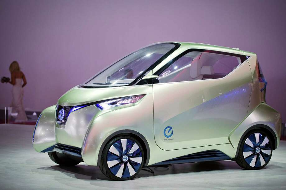 The Nissan Pivo 3 concept car is presented during the press days at the Paris Motor Show on Sept. 27, 2012. Photo: JOEL SAGET, AFP/Getty Images / 2012 AFP