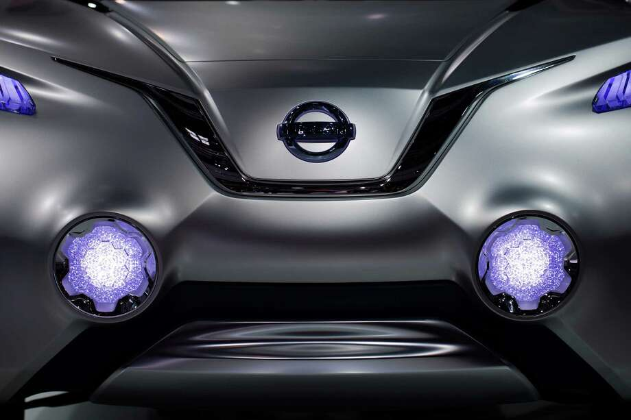The front of a Nissan Tetra is shown on Sept. 27, 2012 at the Paris Motor Show. Photo: JOEL SAGET, AFP/Getty Images / 2012 AFP