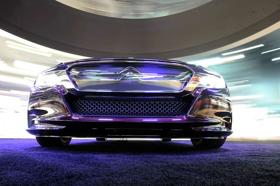 PARIS, FRANCE - SEPTEMBER 28:  A Citroen DS numero 9 concept car sits on display at the Paris Motor Show on September 28, 2012 in Paris, France. The Paris Motor Show runs September 29 - October 14. Photo: Antoine Antoniol, Getty Images / 2012 Getty Images