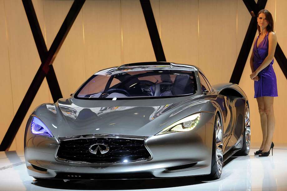 PARIS, FRANCE - SEPTEMBER 28:  An Infiniti Emerge-E electric concept car sits on display at the Paris Motor Show on September 28, 2012 in Paris, France.  The Paris Motor Show runs September 29 - October 14. Photo: Antoine Antoniol, Getty Images / 2012 Getty Images