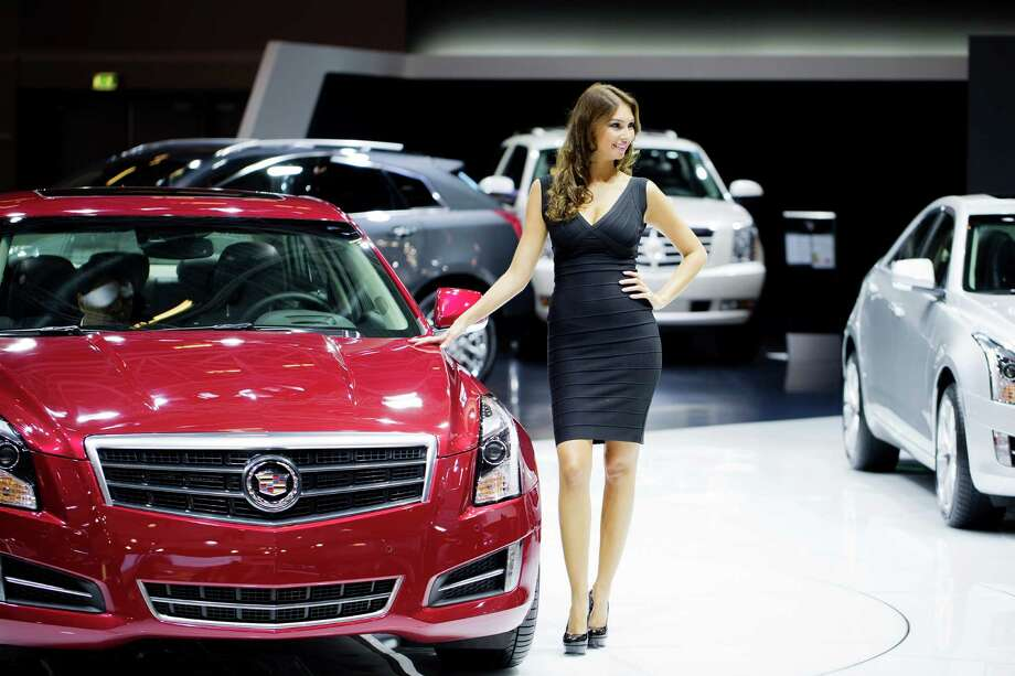 A Cadillac ATS Premium is displayed during the press days of the Paris Motor Show on Sept. 28, 2012. Photo: JOEL SAGET, AFP/Getty Images / 2012 AFP