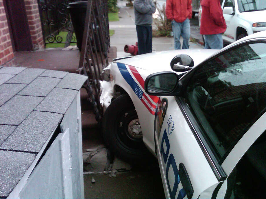Troy Man Hurt In Crash With City Police Car Times Union