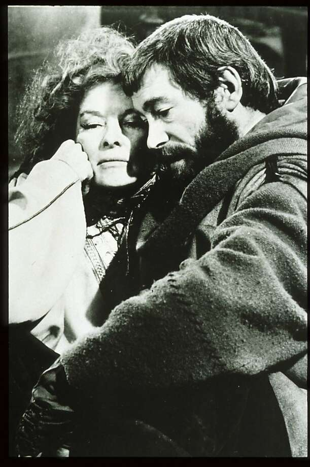 "FILE - JULY 10, 2012: Actor Peter O'Toole has announced his retirement from stage and screen at age 79. 265724 01: Actress Katharine Hepburn Sits Beside Actor Peter O'Toole In The Film ""The Lion In Winter."" Hepburn Received Four Oscars For Best Actress In The Span Of A Sixty Year Career.  (Photo By Getty Images) Photo: Getty Images"