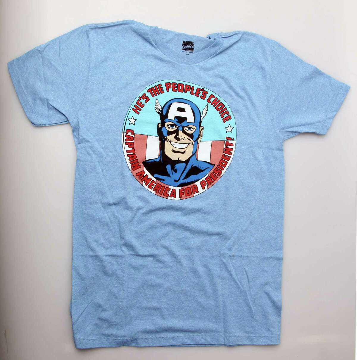 With a name like Captain America, president seems to be the next logical step.