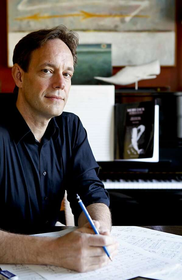 "Composer Jake Heggie says he considers his operatic treatment of Herman Melville's ""Moby-Dick,"" which receives its Bay Area premiere Wednesday, a creative breakthrough. Photo: Russell Yip, The Chronicle"