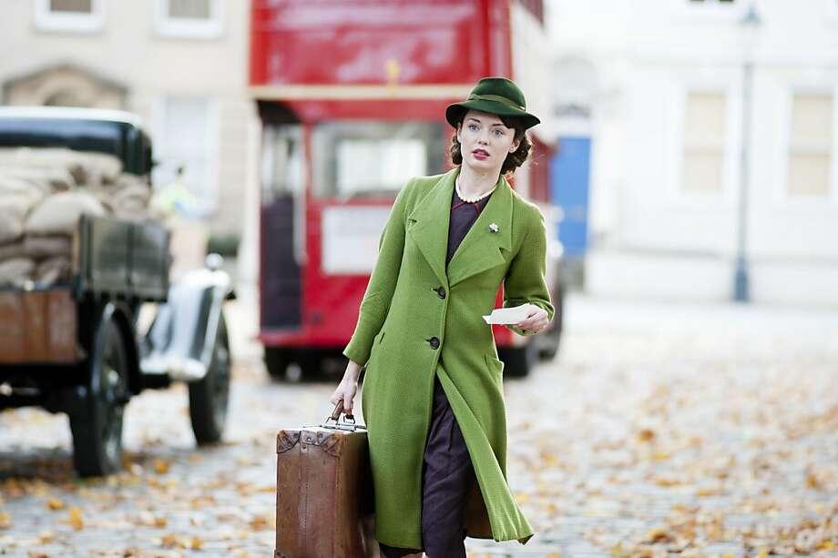 Laura Haddock plays Beryl Ballard, the new maid who catches the chauffeur's roving eye. Photo: Masterpiece