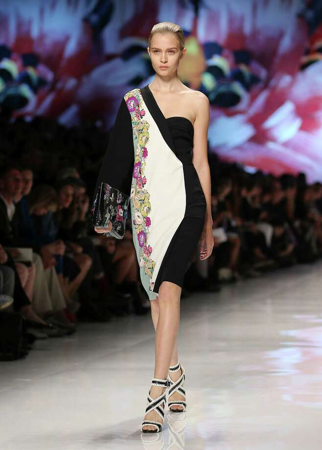 A model wears a creation as part of the Etro collection. Photo: Antonio Calanni, ASSOCIATED PRESS / AP2012