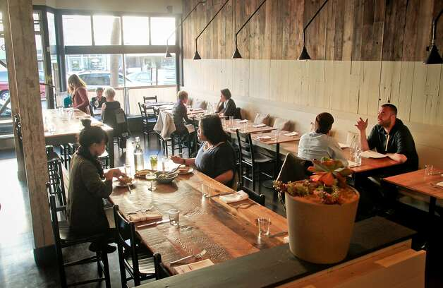 Diners enjoy dinner at Rich Table in San Francisco on Wednesday, September 19th, 2012. Photo: John Storey, Special To The Chronicle