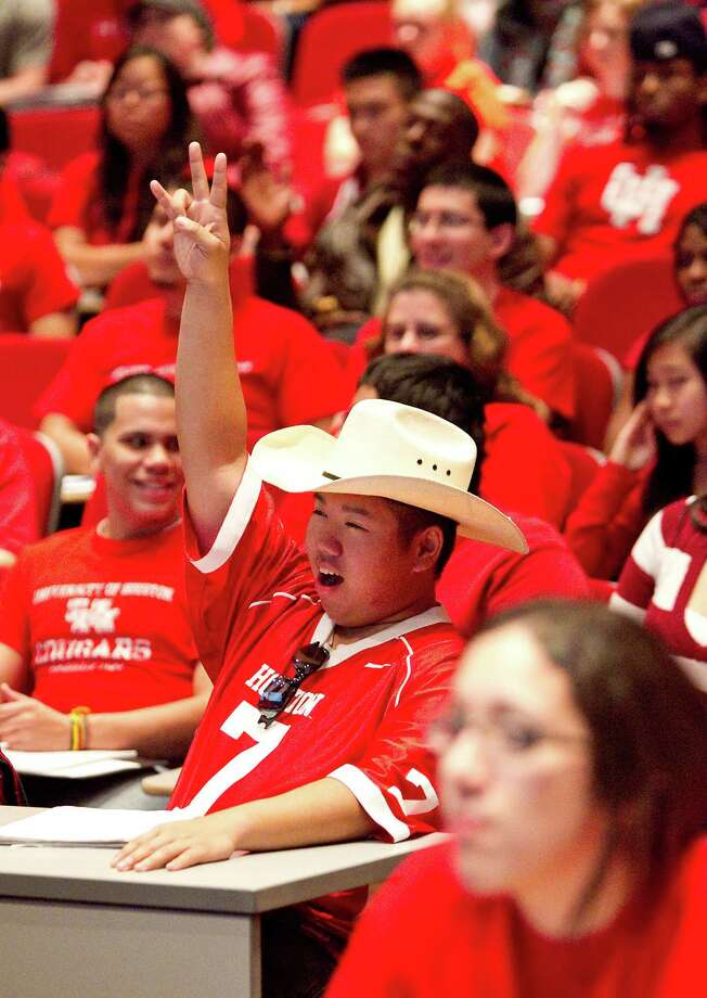 University of HoustonTuition and fees: $10,272 in-state ($20,892 out-of-state) Photo: Nick De La Torre / © 2011  Houston Chronicle