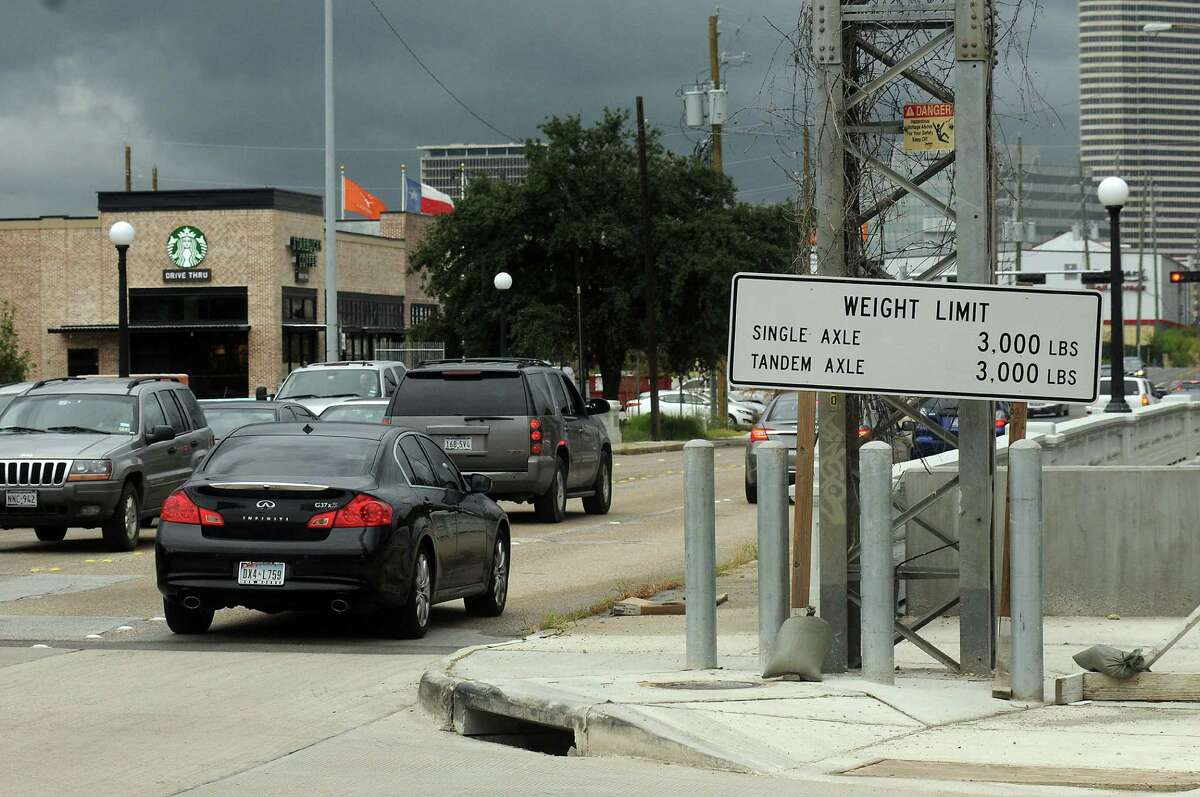 Houston police say enforcement efforts will be directed at trucks ignoring the bridge's weight limit.