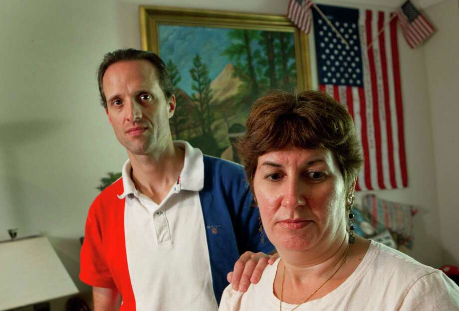 Brian Molho and Elizabeth Schlein accused a Houston taxi driver of cheating them this summer. The city agency that oversees taxis ruled in their favor. Photo: Brett Coomer / © 2012 Houston Chronicle