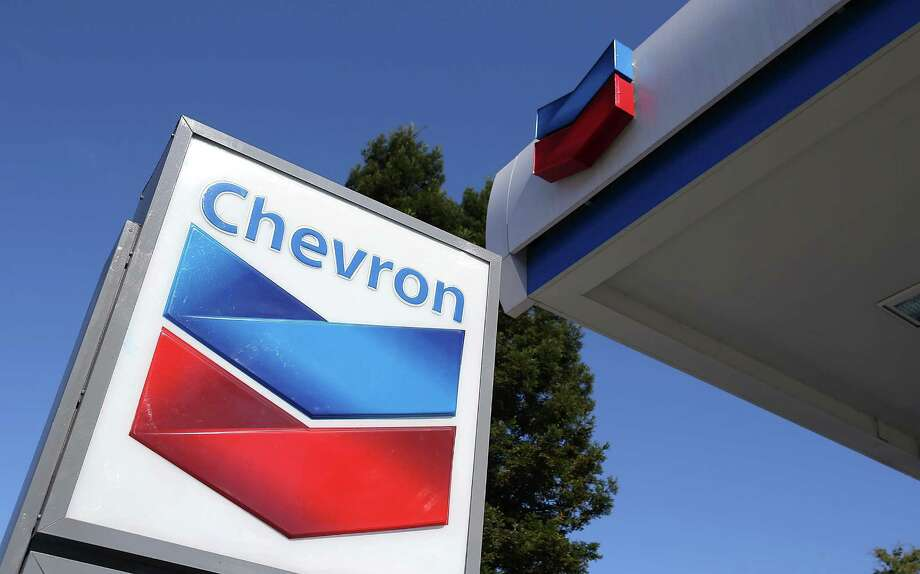A Chevron gas station  in San Rafael, Calif.  (Photo by Justin Sullivan/Getty Images) Photo: Justin Sullivan / 2012 Getty Images