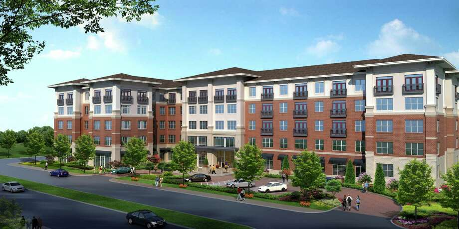 Hanover Co.'s apartment development near Bissonnet and Kirby will be built where the Bissonnet Village Apartments complex now stands. Photo: Wallace Garcia Wilson Architects