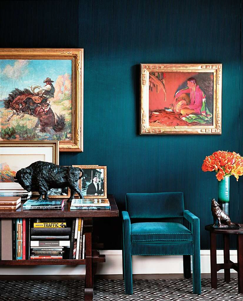 A few more rooms from Alexis and Trevor Traina's San Francisco residence,  featured in
