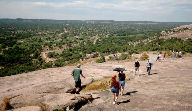 State parks across the state, including Enchanted Rock, are holding New Year's Day activities. Photo: RON HENRY STRAIT, EXPRESS-NEWS FILE PHOTO / RSTRAIT@EXPRESS-NEWS.NET