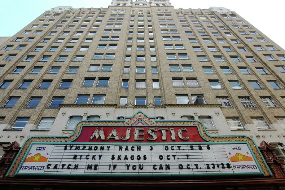 "Majestic Theatre224 E. Houston St. Its opening began with a ceremony, including the U.S. and Mexican national anthems, a series of vaudeville acts, and finally the film ""Follies of 1929.""Read more Photo: Kin Man Hui, SAN ANTONIO EXPRESS-NEWS / ©2012 San Antonio Express-News"