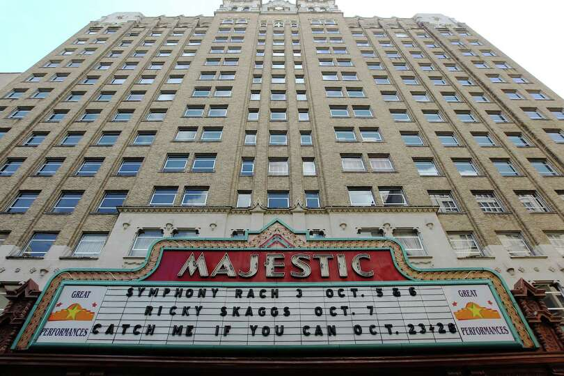 When the Majestic Theatre opened in the summer of 1929, it drew dignitaries such as Gov. Dan