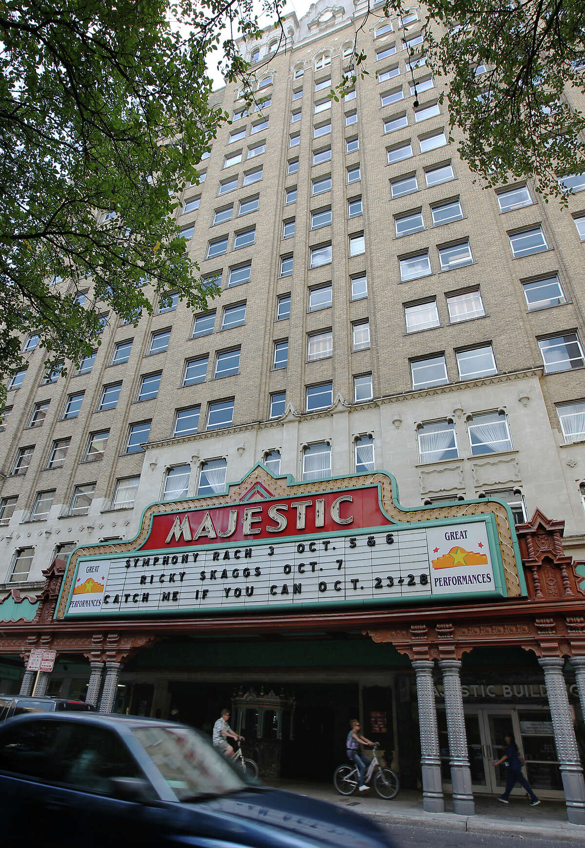 View of the Majestic Theater on Wednesday, Sept. 26, 2012.