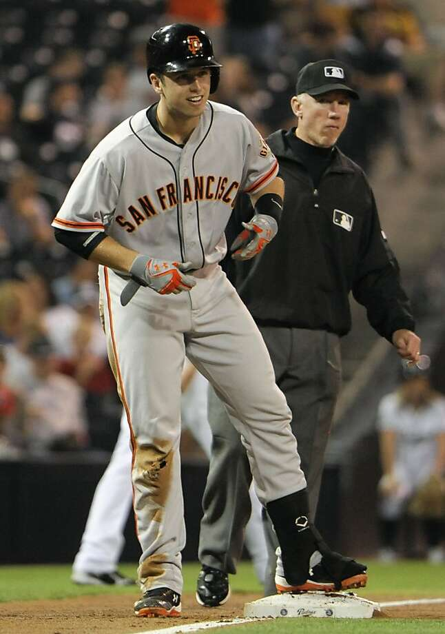 Buster Posey not only has the stats, he's also truly the most valuable player, with the most impact. Photo: Denis Poroy, Getty Images
