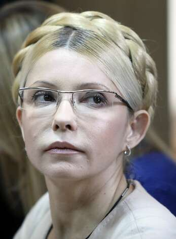 Yulia Tymoshenko is the top opposition leader. Photo: Efrem Lukatsky, Associated Press