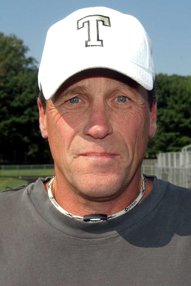 Trumbull football coach Bob Maffei Photo: Christian Abraham / Connecticut Post