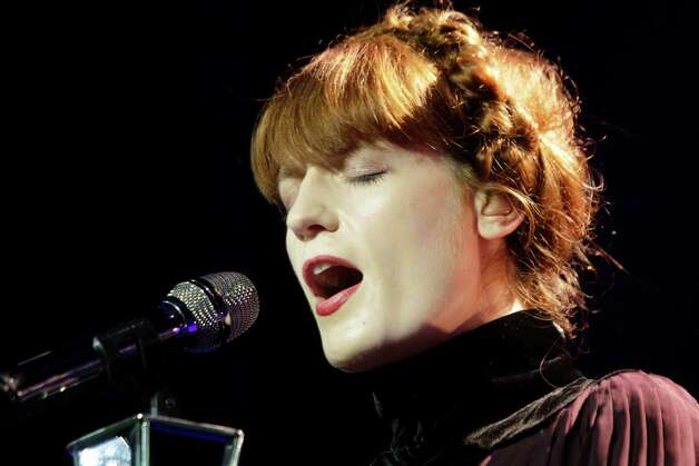 InStyle's latesttop 10 list has some of Hollywood's most fashionable starsLead singer Florence Welch of Florence + the Machine  Photo: Melissa Phillip, Houston Chronicle / © 2012 Houston Chronicle