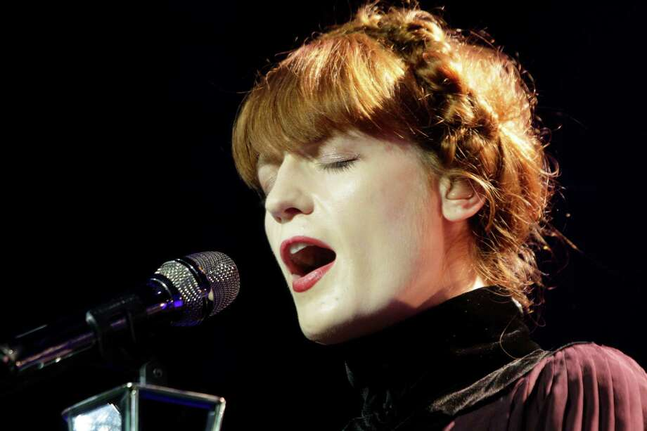 InStyle's latest top 10 list has some of Hollywood's most fashionable starsLead singer Florence Welch of Florence + the Machine  Photo: Melissa Phillip, Houston Chronicle / © 2012 Houston Chronicle
