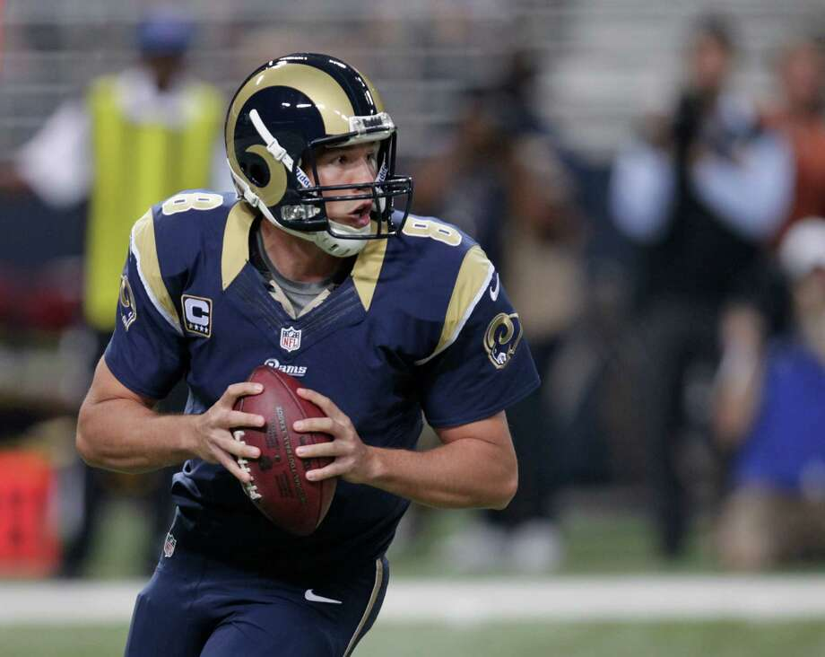St. Louis Rams quarterback Sam Bradford during the first half of an NFL football game against the Seattle Seahawks Sunday, Sept. 30, 2012, in St. Louis. Photo: AP