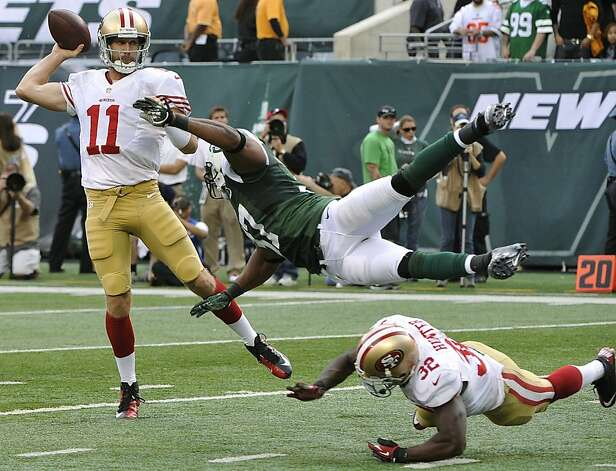 Defense leads 49ers to 34-0 rout of Jets
