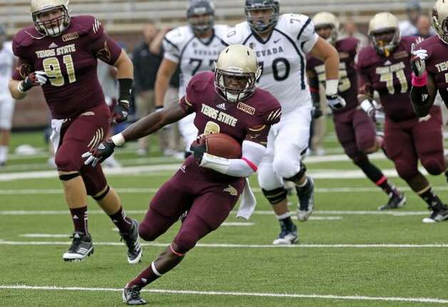 10. Texas State (2-2, next week @ New Mexico) — Coach Fran said second-half collapse vs. Nevada made him sick to his stomach. His illness happened after no points and 73 yards in the second half. (Tom Reel / San Antonio Express-News)