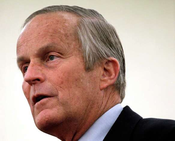 In this Sept. 25, 2012 file photo, Missouri Republican Senate candidate, Rep. Todd Akin, R-Mo., speaks during a news conference in St. Louis. Photo: Jeff Roberson, Associated Press / AP