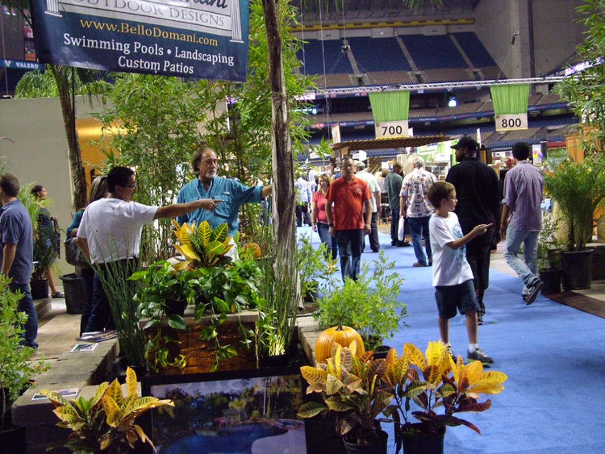 San Antonio Home & Garden Show , Feb. 22-24. Alamodome