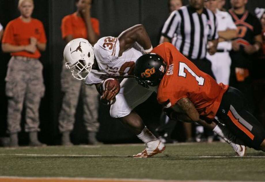 Johnathan Gray, Texas, 12 carries, 68 yards, 0 TDs (Brett Deering / Getty Images)