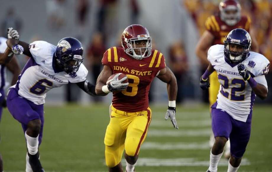 James White, Iowa State, 9 carries, 57 yards, 0 TDs (photo from Sept. 15) (Charlie Neibergall / Associated Press)