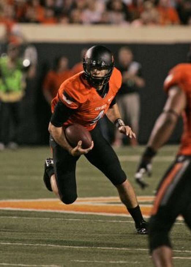 J.W. Walsh, Oklahoma State, 8 carries, 57 yards, 0 TDs (Brett Deering / Getty Images)