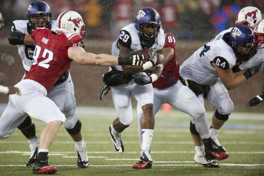 Matthew Tucker, TCU, 18 carries, 56 yards, 1 TD (Cooper Neill / Getty Images)